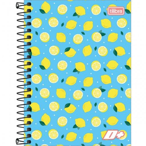 Caderneta Espiral Capa Dura 1/8 D+ 96 Folhas (Pacote com 4 unidades) - Sortido