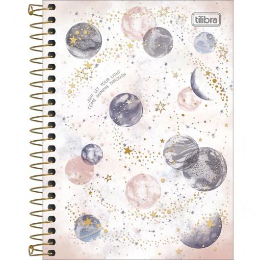 Caderneta Espiral Capa Dura 1/8 Magic 80 Folhas (Pacote com 4 unidades) - Sortido