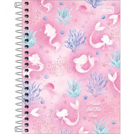 Caderneta Espiral Capa Dura 1/8 Wonder 80 Folhas (Pacote com 4 unidades) - Sortido