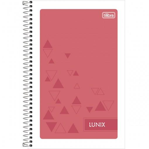 Caderneta Espiral Capa Flexível 1/8 Lunix 96 Folhas (Pacote com 24 unidades) - Sortido