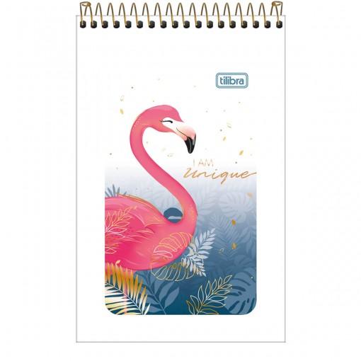 Caderneta Espiral Capa Flexível Aloha 60 Folhas (Pacote com 20 unidades) - Sortido