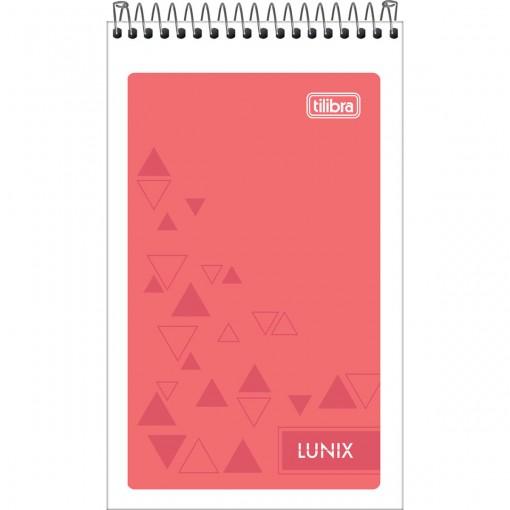 Caderneta Espiral Capa Flexível Lunix 60 Folhas (Pacote com 20 unidades) - Sortido