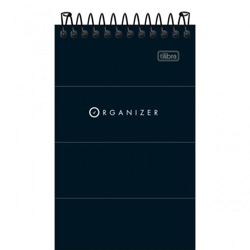 Caderneta Espiral Capa Flexível Organizer 60 Folhas