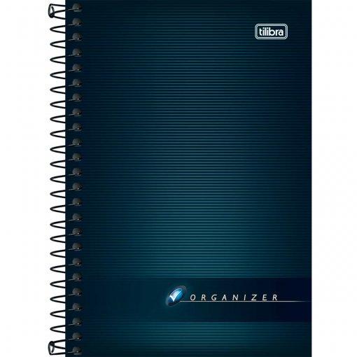 Caderneta Espiralada Capa Flexível Organizer - 96 Folhas