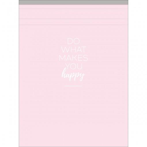 Caderneta Grampeada ao Alto G Happy 80 Folhas (Pacote com 5 unidades) - Sortido