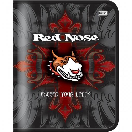 Caderno Argolado Cartonado Red Nose 48 Folhas - Sortido