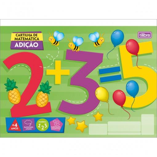 Caderno Atividades de Matemática Adição Académie 32 Folhas