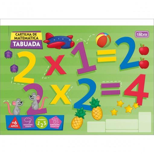 Caderno Atividades de Matemática Tabuada Académie 20 Folhas