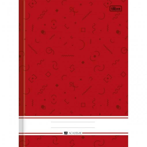 Caderno Brochura Capa Dura 1/4 Académie 160 Folhas (Pacote com 5 unidades) - Sortido