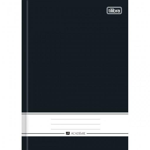 Caderno Brochura Capa Dura 1/4 Académie Preto 96 Folhas