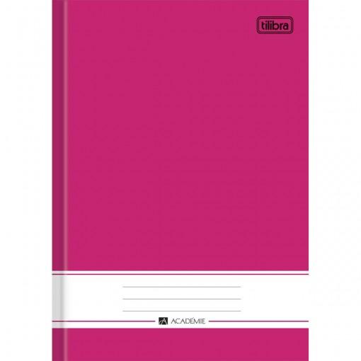 Caderno Brochura Capa Dura 1/4 Académie Rosa 96 Folhas