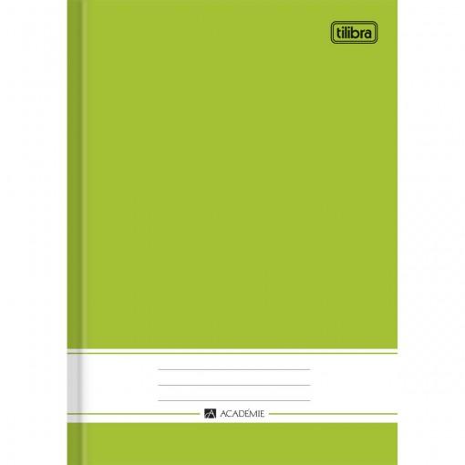 Caderno Brochura Capa Dura 1/4 Académie Verde 96 Folhas