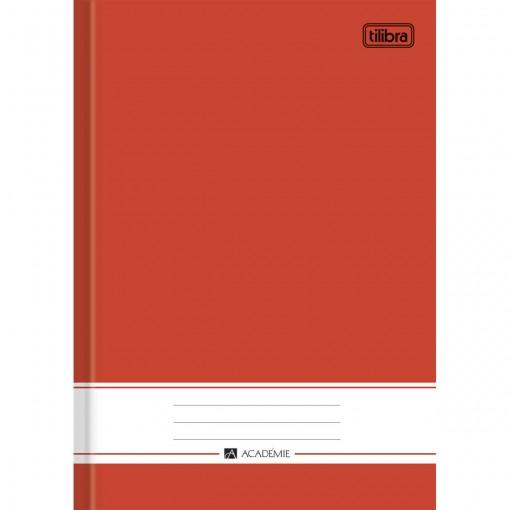 Caderno Brochura Capa Dura 1/4 Académie Vermelho 96 Folhas