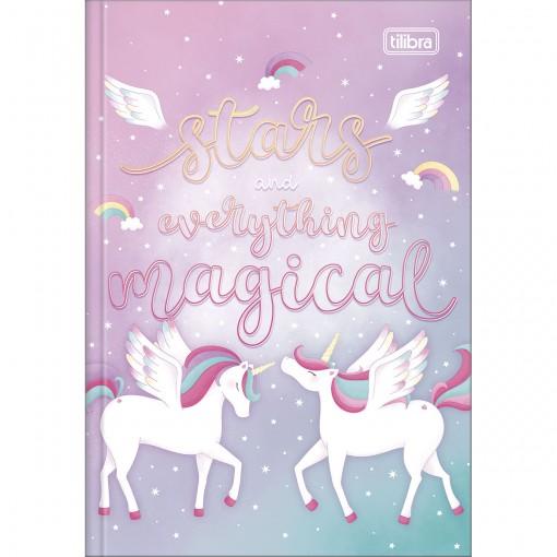 Caderno Brochura Capa Dura 1/4 Blink 80 Folhas - Stars and Everything Magical - Sortido