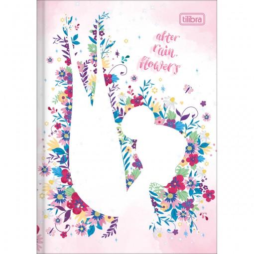 Caderno Brochura Capa Dura 1/4 Fadas 80 Folhas (Pacote com 5 unidades) - Sortido
