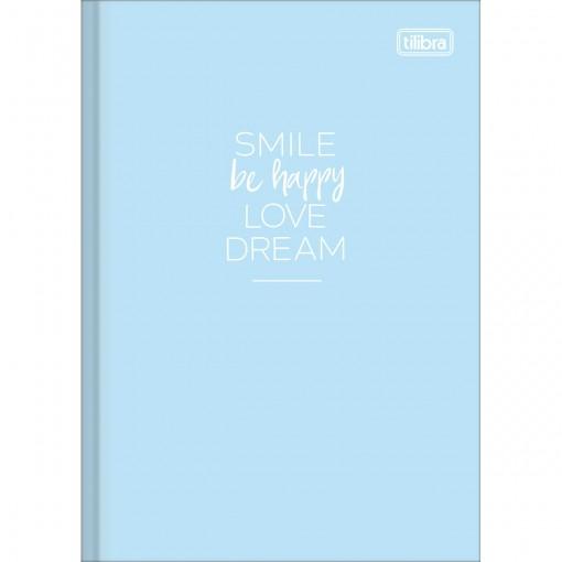 Caderno Brochura Capa Dura 1/4 Happy 80 Folhas (Pacote com 5 unidades) - Sortido