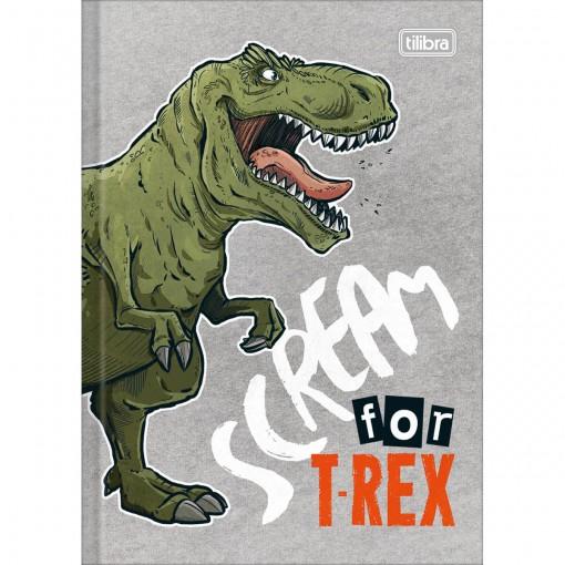 Caderno Brochura Capa Dura 1/4 Raptor 80 Folhas (Pacote com 5 unidades) - Sortido