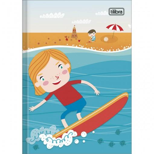 Caderno Brochura Capa Dura 1/4 Sapeca Masculino 96 Folhas (Pacote com 10 unidades) - Sortido