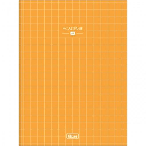 Caderno Brochura Capa Dura Universitário Académie Feminino 80 Folhas (Pacote com 5 unidades) - Sortido