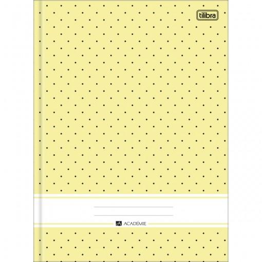 Caderno Brochura Capa Dura Universitário Académie Feminino 96 Folhas - Sortido (Pacote com 5 unidades)