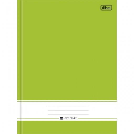 Caderno Brochura Capa Dura Universitário Académie Verde 96 Folhas