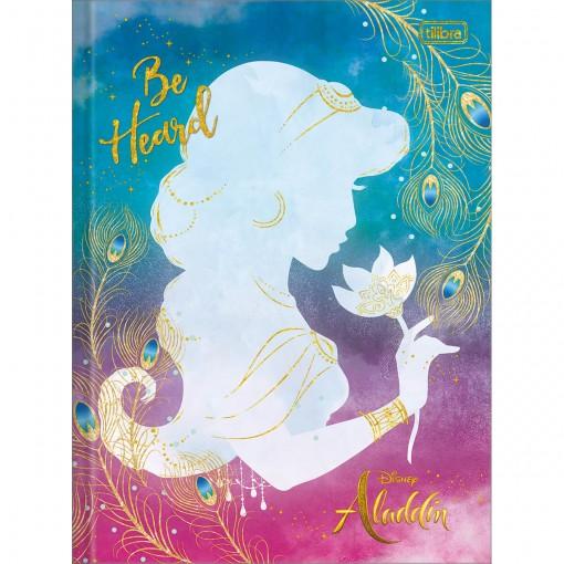 Caderno Brochura Capa Dura Universitário Aladdin 80 Folhas (Pacote com 5 unidades) - Sortido