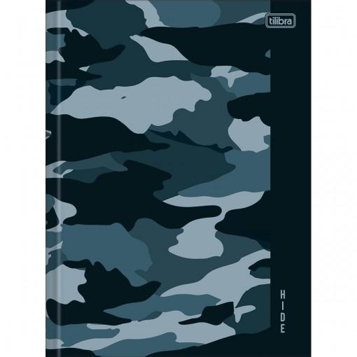 Caderno Brochura Capa Dura Universitário Hide 80 Folhas (Pacote com 5 unidades) - Sortido