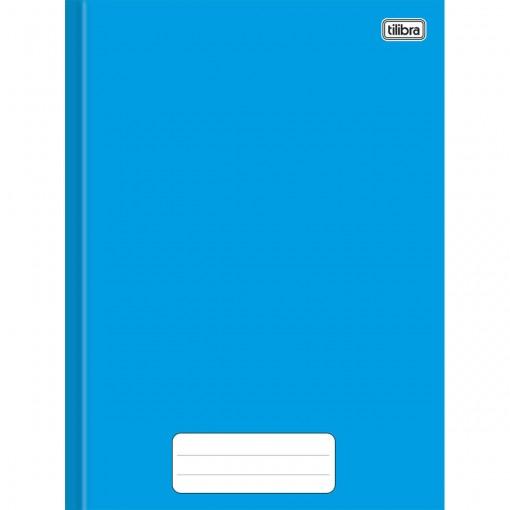 Caderno Brochura Capa Dura Universitário Pepper Azul 80 Folhas