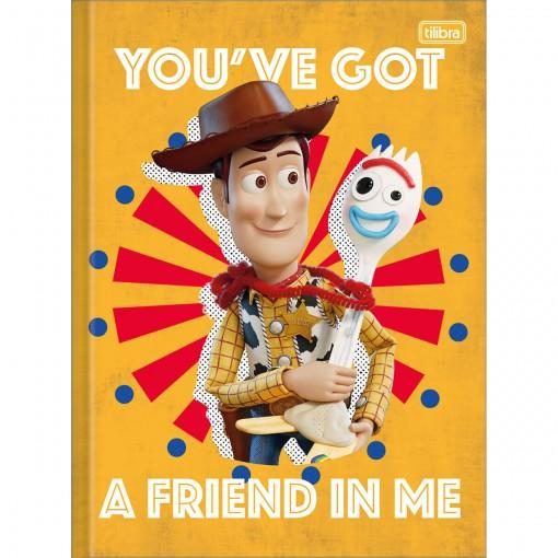 Caderno Brochura Capa Dura Universitário Toy Story 80 Folhas (Pacote com 5 unidades) - Sortido
