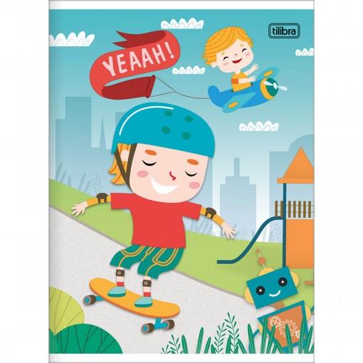 Caderno Brochura Capa Flexível 1/4 Sapeca 96 Folhas - Sortido (Pacote com 10 unidades)