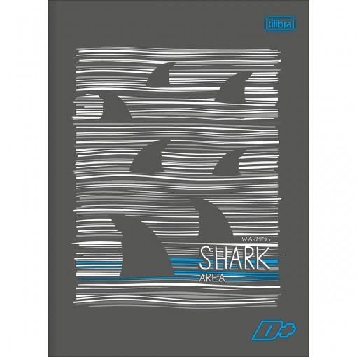Caderno Brochura Capa Flexível Universitário D+ 60 Folhas (Pacote com 10 unidades) - Sortido