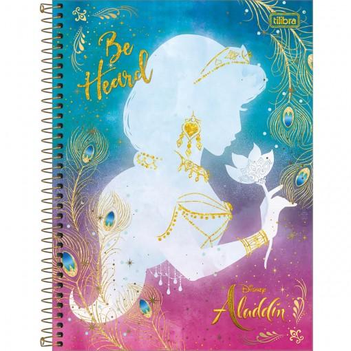 Caderno Capa Dura Universitário Aladdin 10 Matérias 160 Folhas (Pacote com 4 unidades) - Sortido