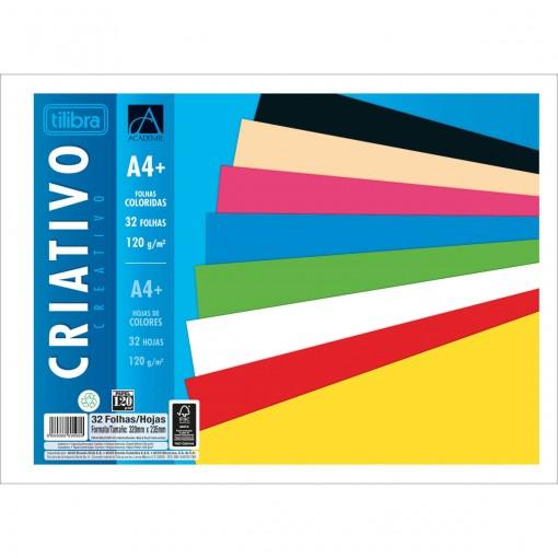 Caderno Colado Criativo Académie 32 Folhas