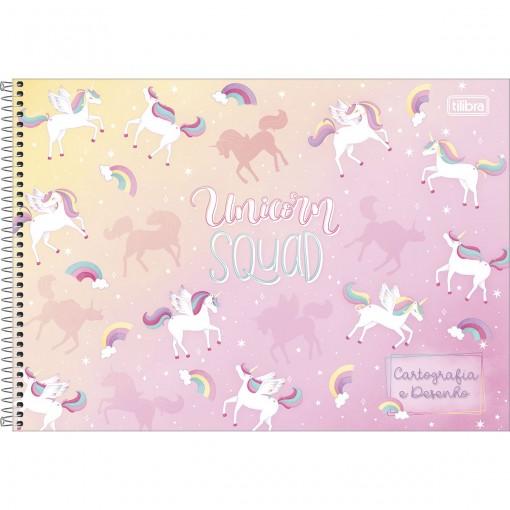 Caderno de Cartografia e Desenho Espiral Capa Dura Blink 80 Folhas (Pacote com 4 unidades) - Sortido
