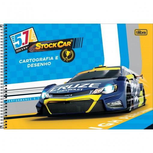 Caderno de Cartografia e Desenho Espiral Capa Dura GM Kids 80 Folhas (Pacote com 4 unidades) - Sortido