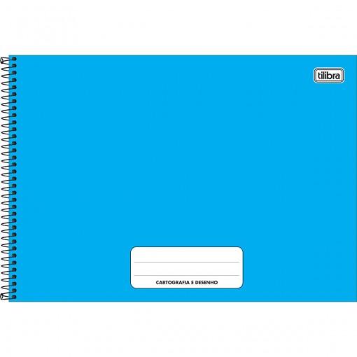 Caderno de Cartografia e Desenho Espiral Capa Dura Pepper 80 Folhas (Pacote com 4 unidades) - Sortido