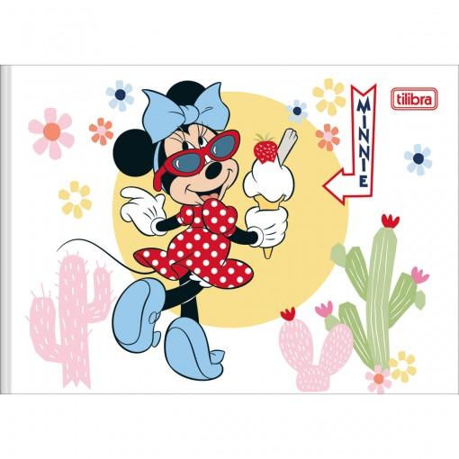 Caderno de Desenho Brochura Capa Dura Minnie 40 Folhas (Pacote com 5 unidades) - Sortido