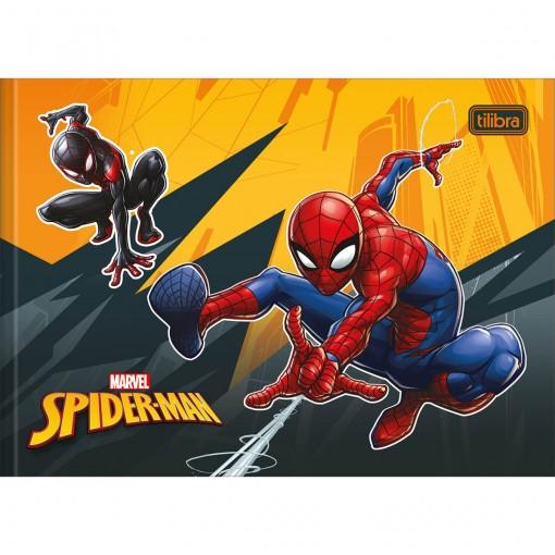 Caderno de Desenho Brochura Capa Dura Spider-Man 40 Folhas (Pacote com 5 unidades) - Sortido