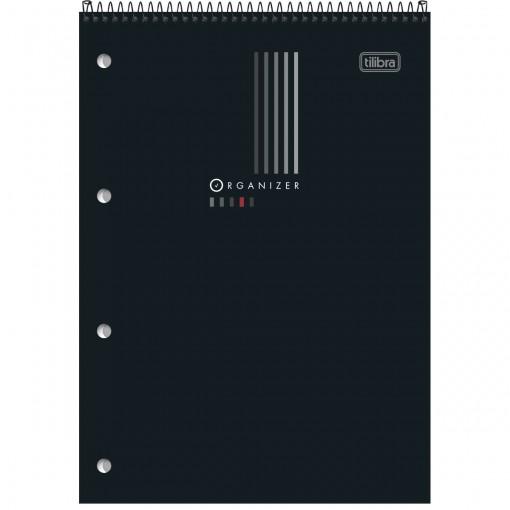 Caderno Espiral ao Alto Capa Flexível G Organizer 80 Folhas