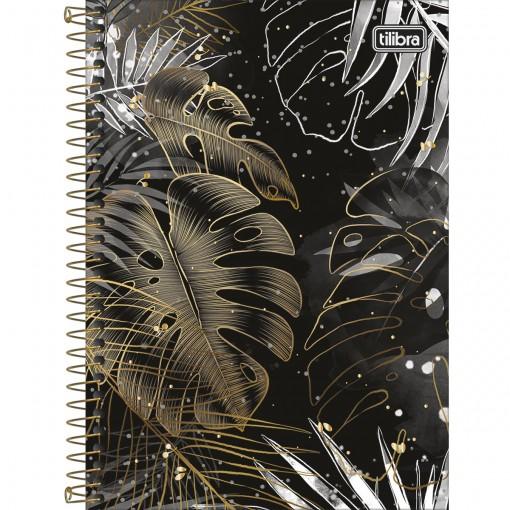 Caderno Espiral Capa Dura 1/4 B&W 80 Folhas (Pacote com 4 unidades) - Sortido