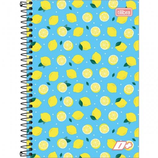 Caderno Espiral Capa Dura 1/4 D+ 200 Folhas (Pacote com 4 unidades) - Sortido
