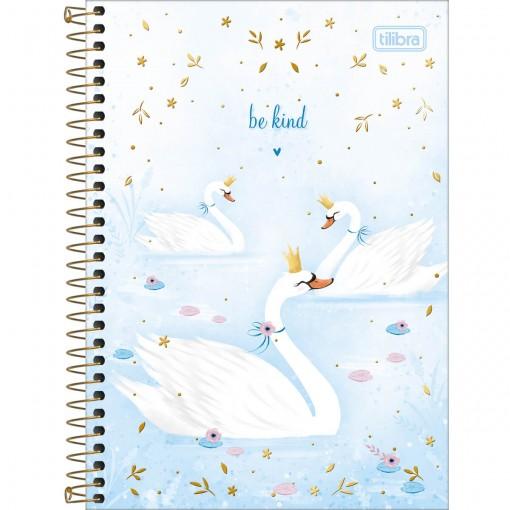 Caderno Espiral Capa Dura 1/4 Royal 80 Folhas (Pacote com 4 unidades) - Sortido