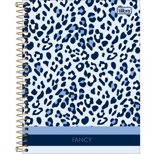 Caderno Espiral Capa Dura Colegial 1 Matéria Fancy 80 Folhas (Pacote com 4 unidades) - Sortido