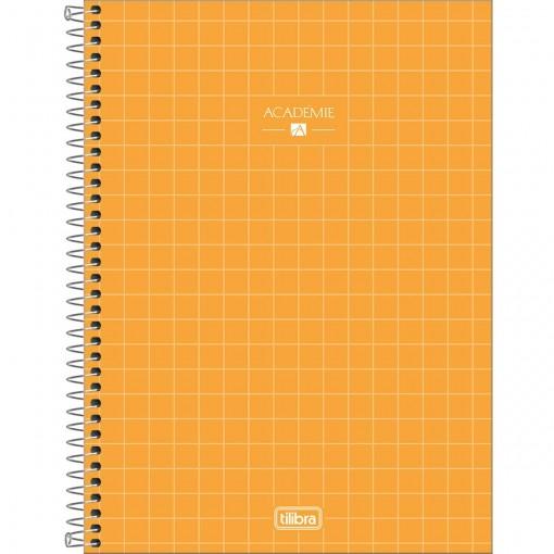 Caderno Espiral Capa Dura Universitário 1 Matéria Académie 80 Folhas (Pacote com 4 unidades) - Sortido