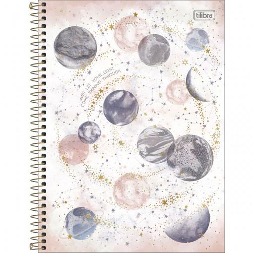 Caderno Espiral Capa Dura Universitário 1 Matéria Magic 80 Folhas - Sortido