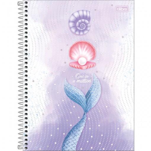 Caderno Espiral Capa Dura Universitário 1 Matéria Wonder 80 Folhas - One in a Million - Sortido