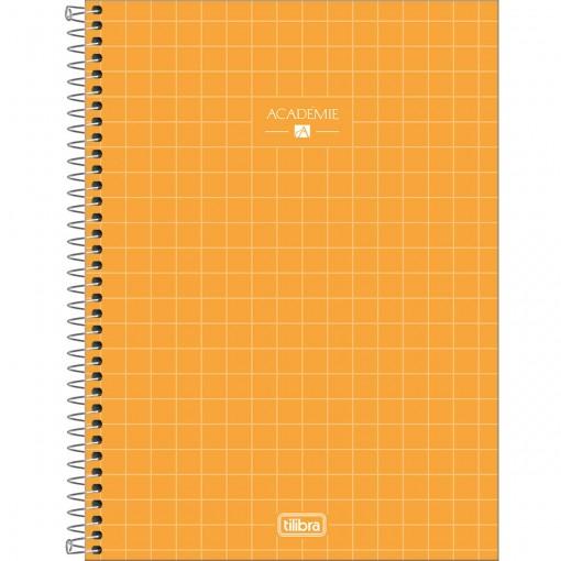Caderno Espiral Capa Dura Universitário 10 Matérias Académie Feminino 160 Folhas (Pacote com 4 unidades) - Sortido