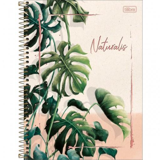 Caderno Espiral Capa Dura Universitário 10 Matérias Naturalis 160 Folhas (Pacote com 4 unidades) - Sortido