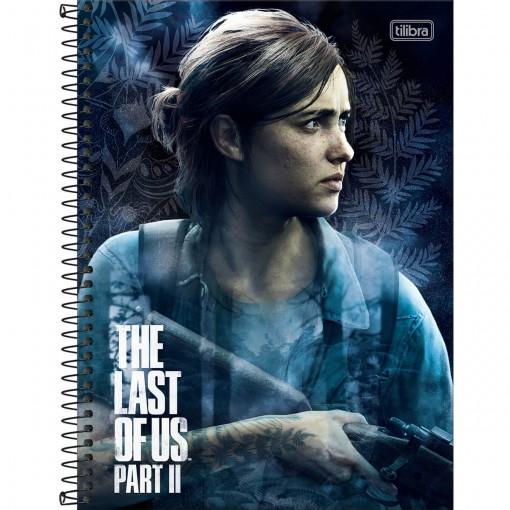 Caderno Espiral Capa Dura Universitário 10 Matérias The Last of Us part II 160 Folhas - Sortido