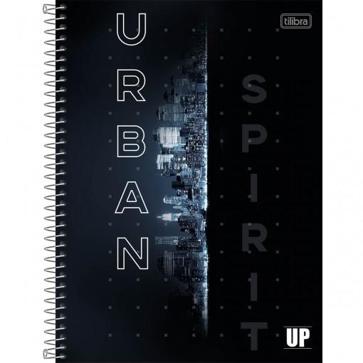 Caderno Espiral Capa Dura Universitário 10 Matérias UP 160 Folhas (Pacote com 4 unidades) - Sortido